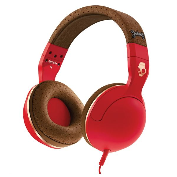 Skullcandy Hesh 2 with Microphone, red/brown/copper