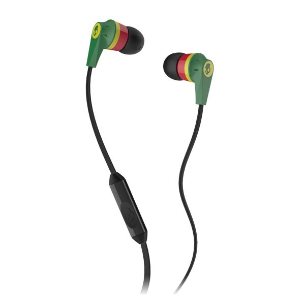 Skullcandy Ink�d 2 with Microphone, rasta