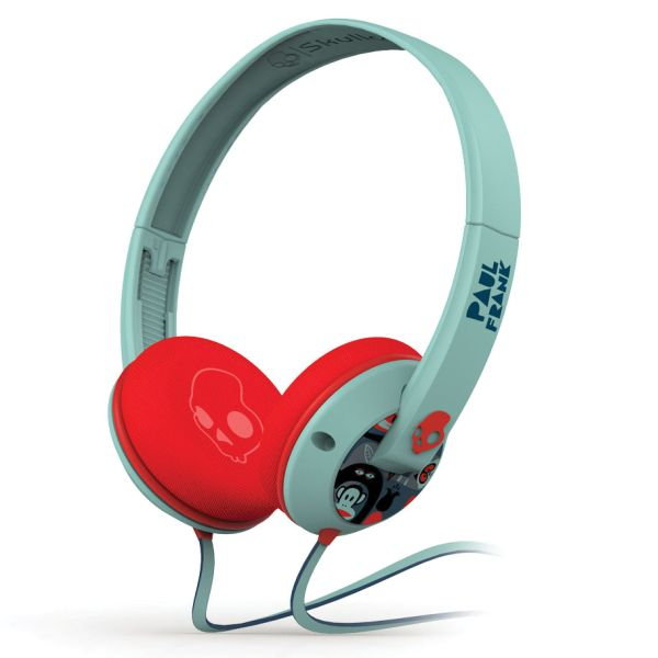Skullcandy Uprock, Paul Frank Turquoise and Red