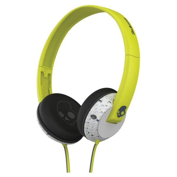 Skullcandy Uprock with Microphone, hot lime/light grey/dark grey