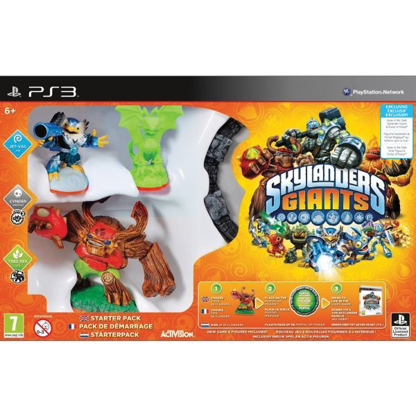 Skylanders Giants (Glow in the Dark Starter Pack) PS3
