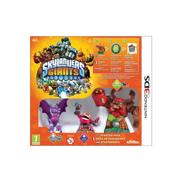 Skylanders Giants (Starter Pack) 3DS