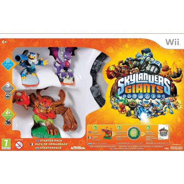 Skylanders Giants (Starter Pack) Wii
