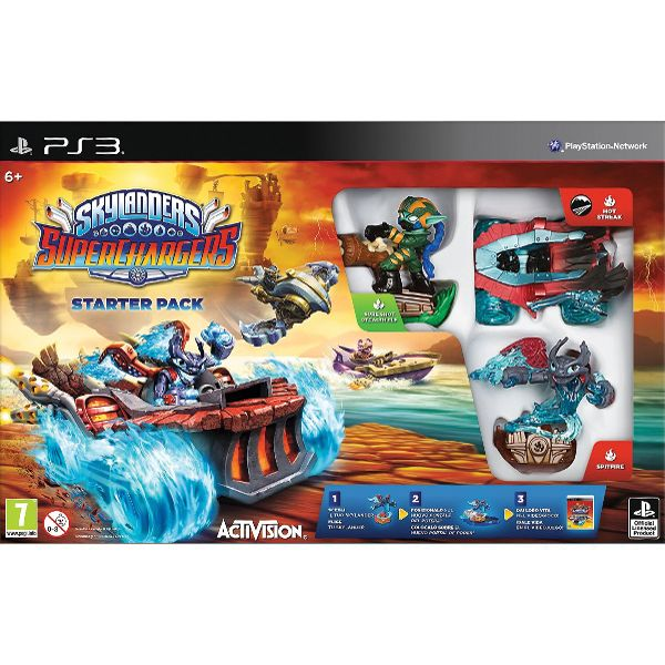 Skylanders SuperChargers (Starter Pack) PS3