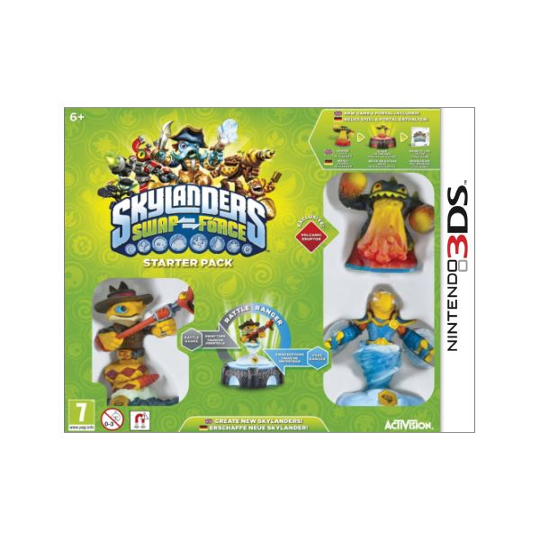 Skylanders: Swap Force (Starter Pack) 3DS
