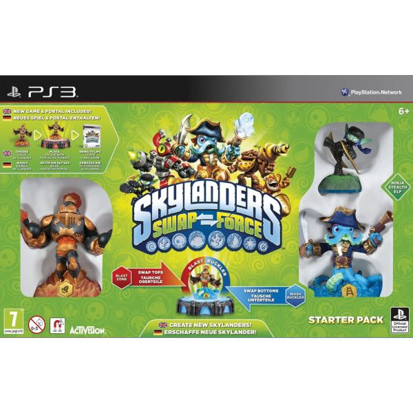 Skylanders: Swap Force (Starter Pack) PS3