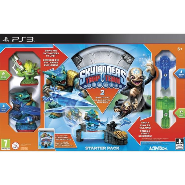 Skylanders Trap Team (Starter Pack) PS3