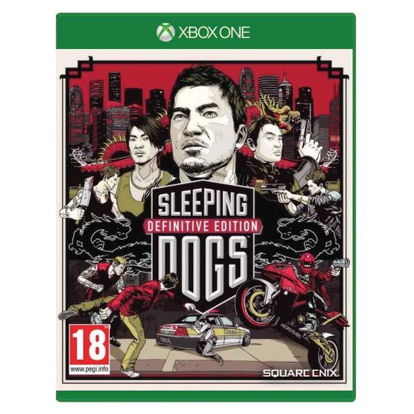 Sleeping Dogs (Definitive Edition) [XBOX ONE] - BAZÁR (použitý tovar)