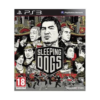 Sleeping Dogs-PS3 - BAZ�R (pou�it� tovar)