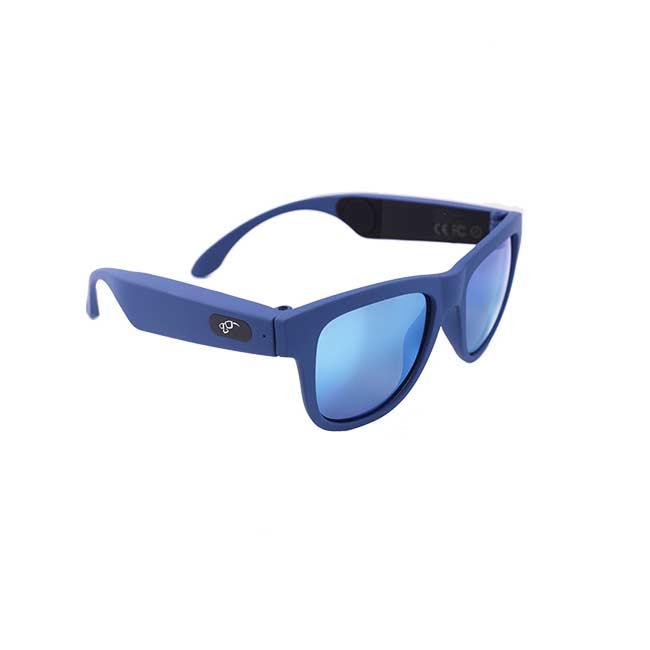 Slneèné okuliare s bluetooth reproduktormi, modré