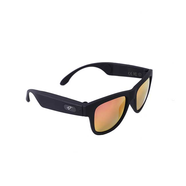 7dd7f8b8f Slnečné okuliare s bluetooth slúchadlami čierne