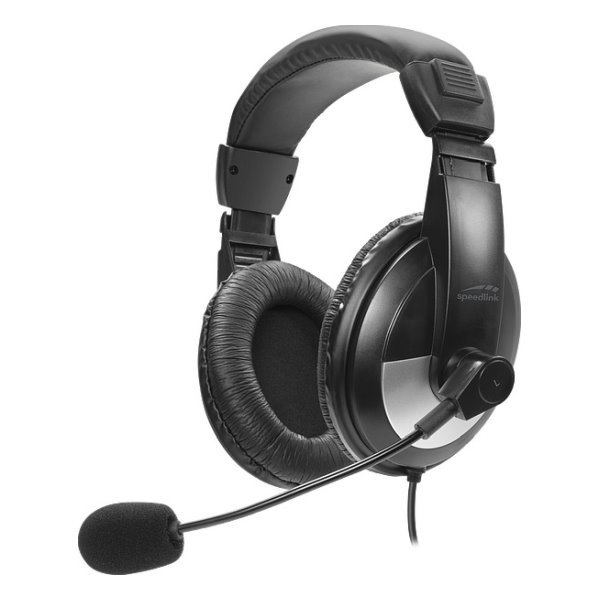Slúchadlá Speedlink Thebe Stereo Headset SL-8743-BK