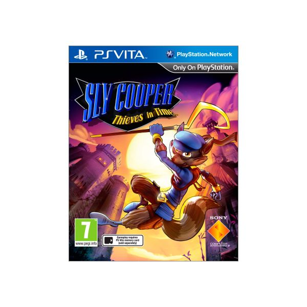 Sly Cooper: Thieves in Time CZ