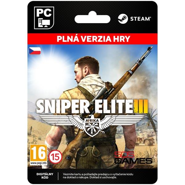 Sniper Elite 3 CZ [Steam]