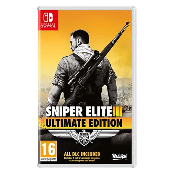 Sniper Elite 3 (Ultimate Edition) [NSW] - BAZÁR (použitý tovar)