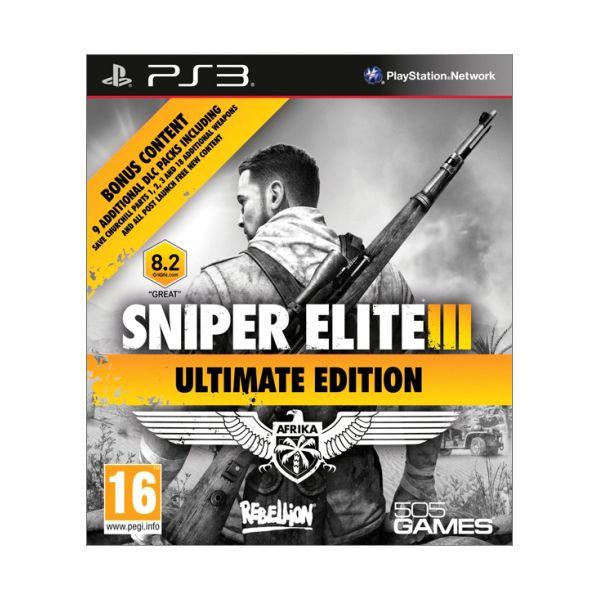 Sniper Elite 3 (Ultimate Edition) PS3