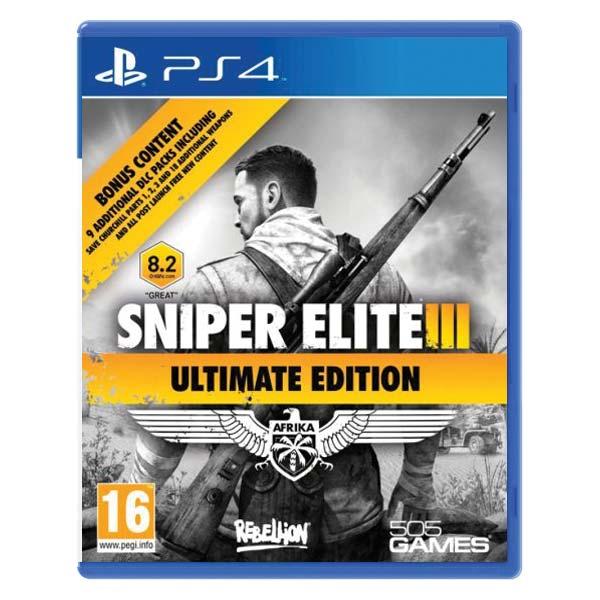 Sniper Elite 3 (Ultimate Edition) [PS4] - BAZÁR (použitý tovar)