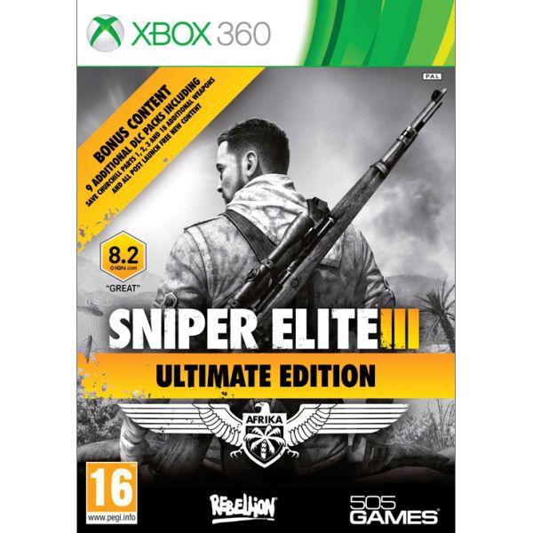 Sniper Elite 3 (Ultimate Edition) XBOX 360