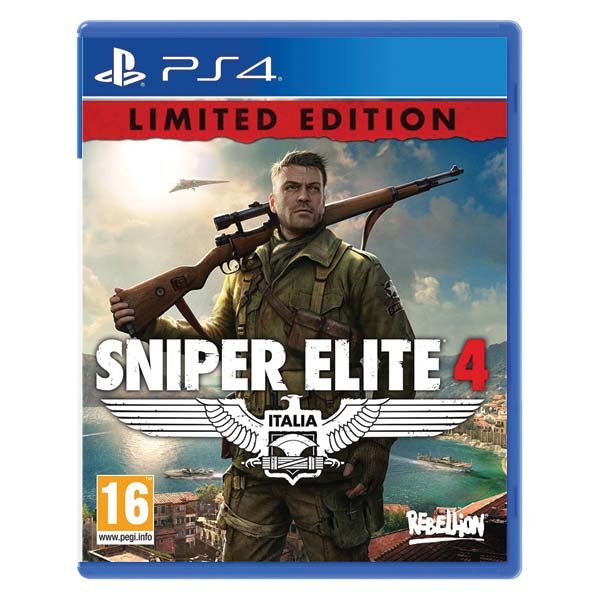 Sniper Elite 4 (Limited Edition) PS4