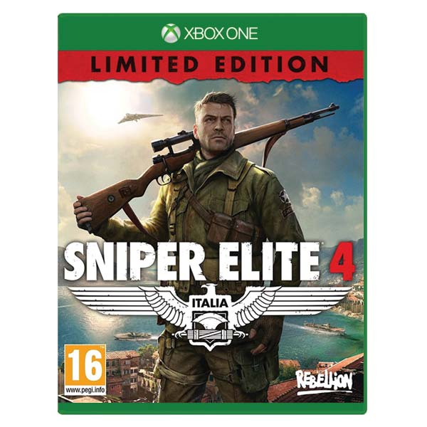 Sniper Elite 4 (Limited Edition) XBOX ONE
