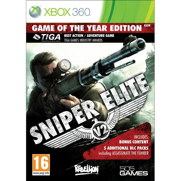 Sniper Elite V2 (Game of the Year Edition) XBOX 360