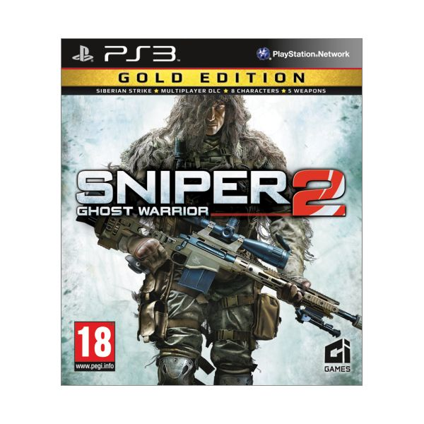 Sniper: Ghost Warrior 2 (Gold Edition) PS3