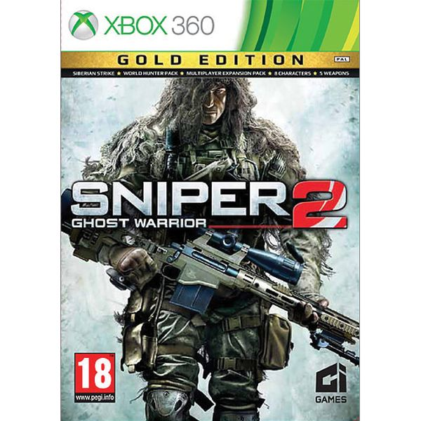 Sniper: Ghost Warrior 2 (Gold Edition) XBOX 360