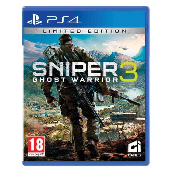 Sniper: Ghost Warrior 3 [PS4] - BAZÁR (použitý tovar)