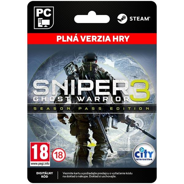 Sniper: Ghost Warrior 3 (Season Pass Edition) [Steam]