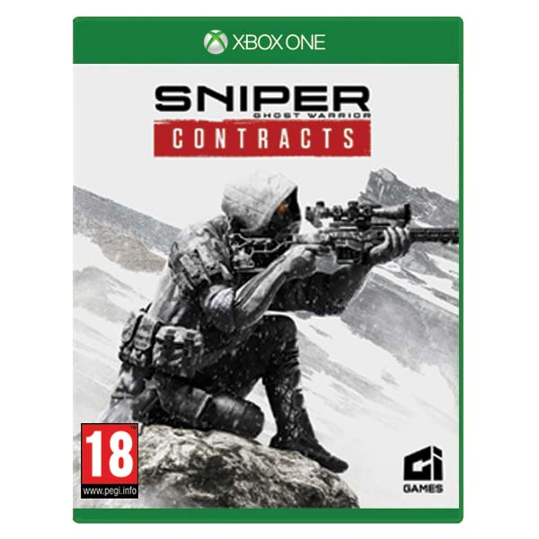 Sniper Ghost Warrior: Contracts CZ [XBOX ONE] - BAZÁR (použitý tovar)