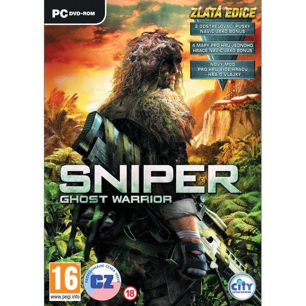 Sniper: Ghost Warrior CZ (Zlatá edícia) PC