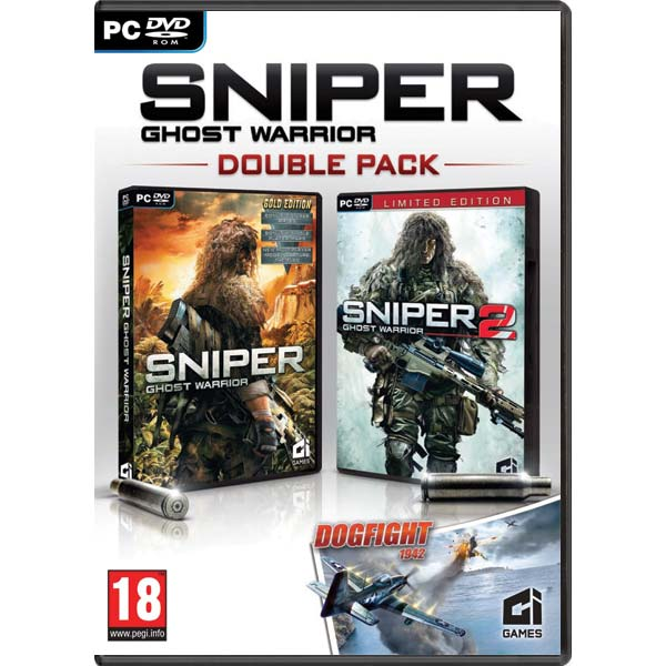 Sniper: Ghost Warrior (Double Pack) + Dogfight 1942