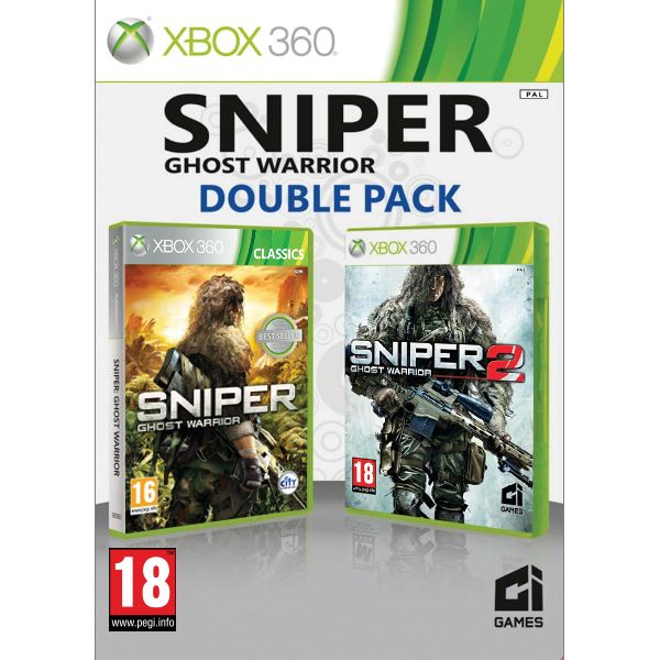 Sniper: Ghost Warrior (Double Pack) XBOX 360