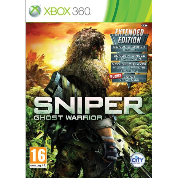 Sniper: Ghost Warrior (Extended Edition) XBOX 360