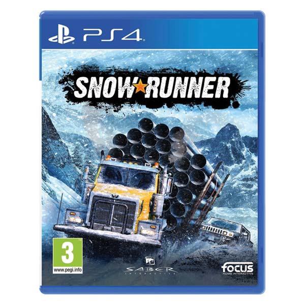 SnowRunner CZ [PS4] - BAZÁR (použitý tovar)