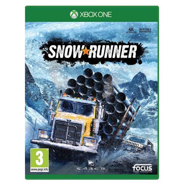 SnowRunner CZ [XBOX ONE] - BAZÁR (použitý tovar)