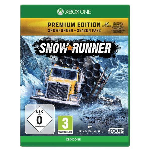 SnowRunner CZ (Premium Edition)