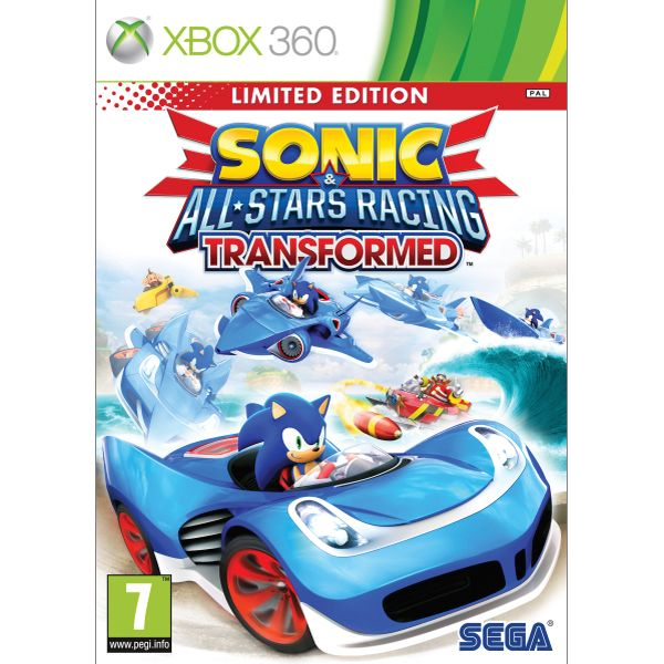 Sonic & All-Stars Racing: Transformed (Limited Edition) XBOX 360