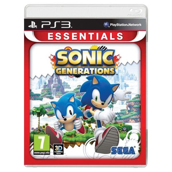 Sonic Generations [PS3] - BAZÁR (použitý tovar)