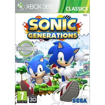 Sonic Generations [XBOX 360] - BAZÁR (použitý tovar)