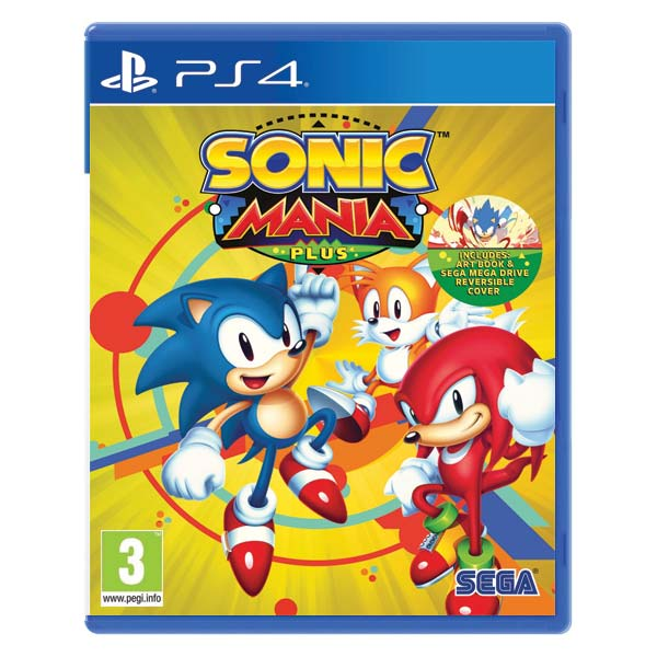 Sonic Mania Plus [PS4] - BAZÁR (použitý tovar)