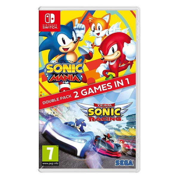 Sonic Mania & Team Sonic Racing (Double Pack)