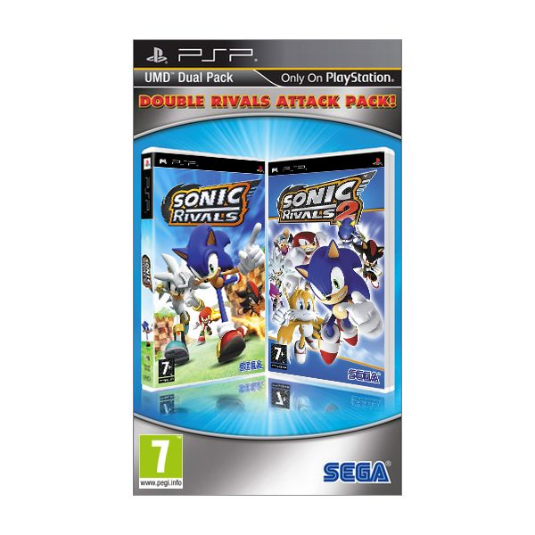 Sonic Rivals (Double Rivals Attack Pack)