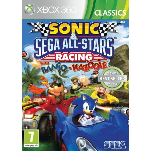 Sonic & SEGA All-Stars Racing with Banjo-Kazooie [XBOX 360] - BAZÁR (použitý tovar)