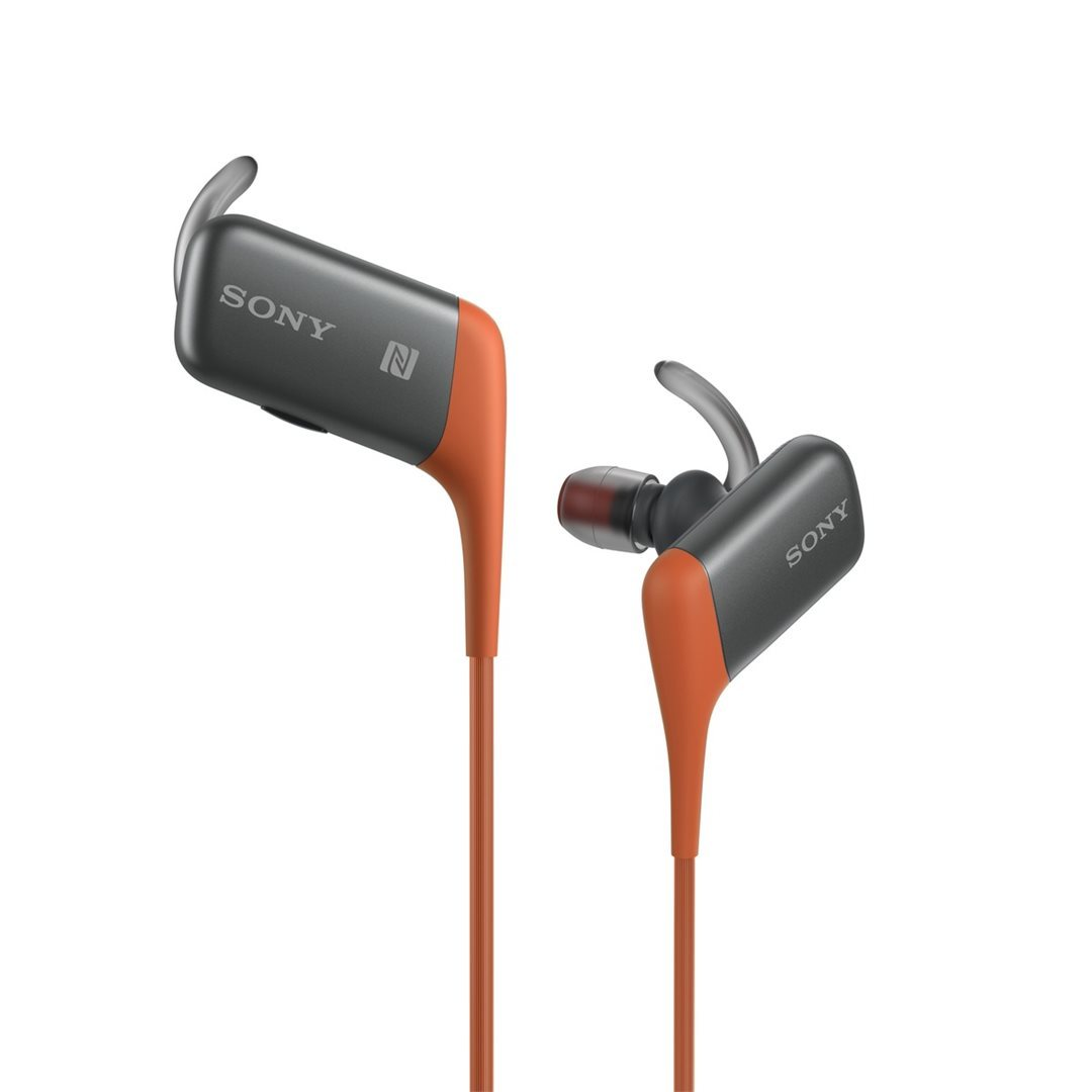 Sony ACTIVE MDR-AS600BT, k�blov� Headset, Orange