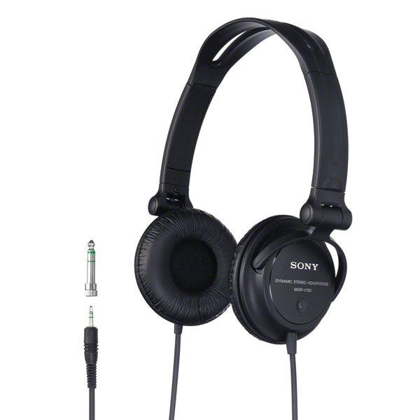 Sony DJ MDR-V150, black MDRV150.CE7
