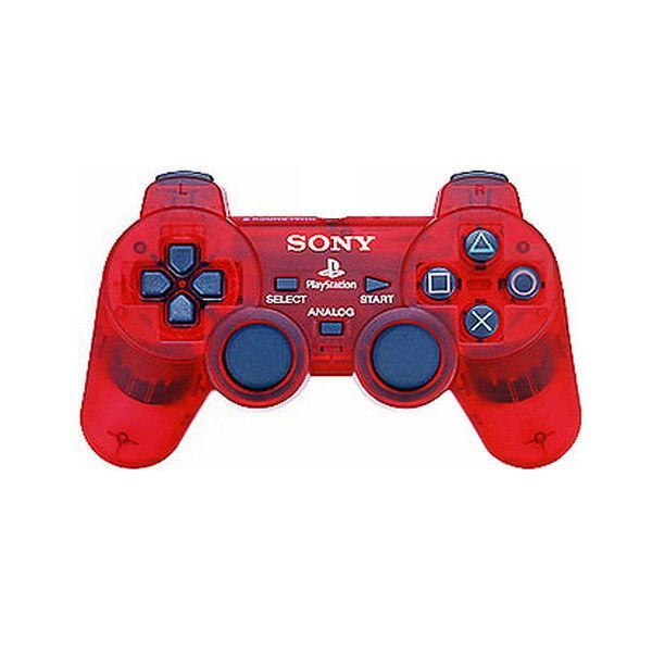 Sony DUALSHOCK 2, crimson red
