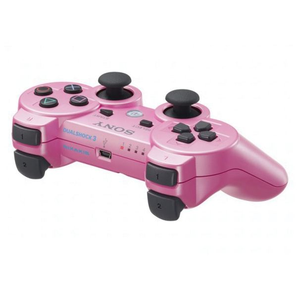 Sony DualShock 3 Wireless Controller, candy pink