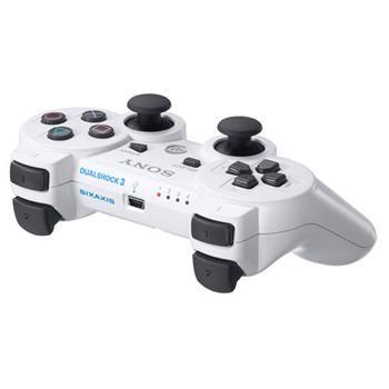 Sony DualShock 3 Wireless Controller, ceramic white-PS3 - BAZÁR (použitý tovar)