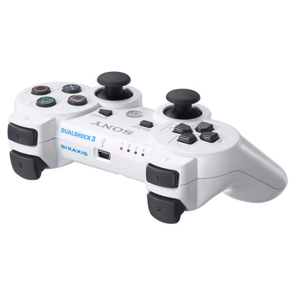 Sony DualShock 3 Wireless Controller, ceramic white